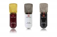 Студийный конденсаторный микрофон AF-327 (черный, красный, белый)
